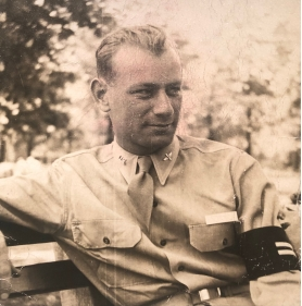 Sanford L. Batkin (Sandy) in uniform during WWII