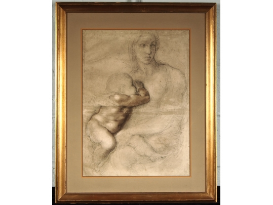 Print of mother and child black rock galleries for Brownstone liquidators