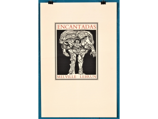A print from herman melville 39 s the encantadas by leonard for Brownstone liquidators