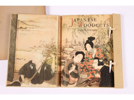 Japanese woodcuts early periods book and plates with for Brownstone liquidators