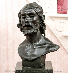 Rodin's John the Baptist cast bronze sculpture