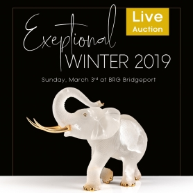 Going live: BRG's Exceptional Winter 2019 Live Auction Sale