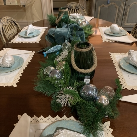 Black Rock Interiors by BRG joins the Fairfield Christmas Tree Festival at Burr Homestead