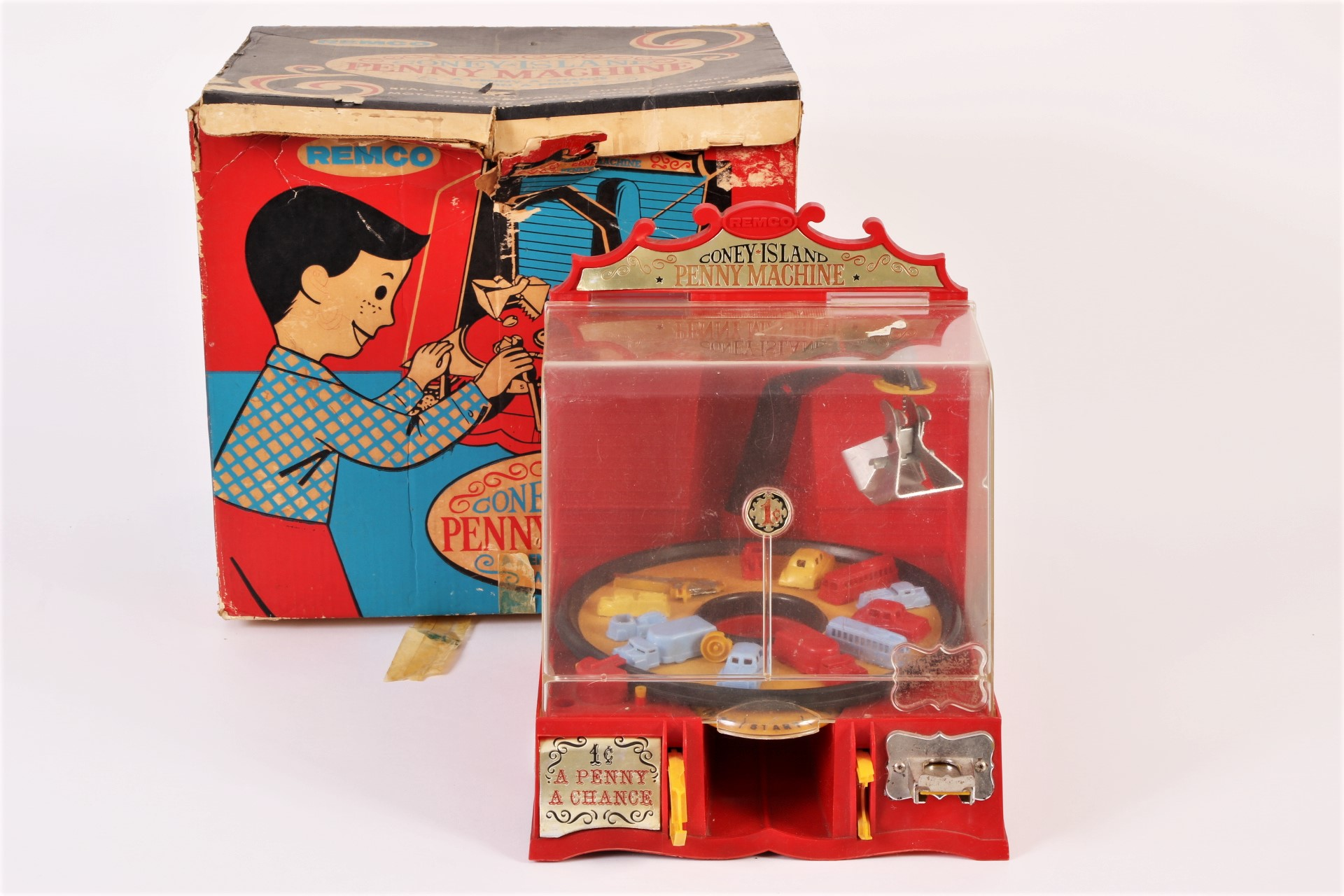 Remco Coney Island Penny Machine 704 62436 Black Rock Galleries