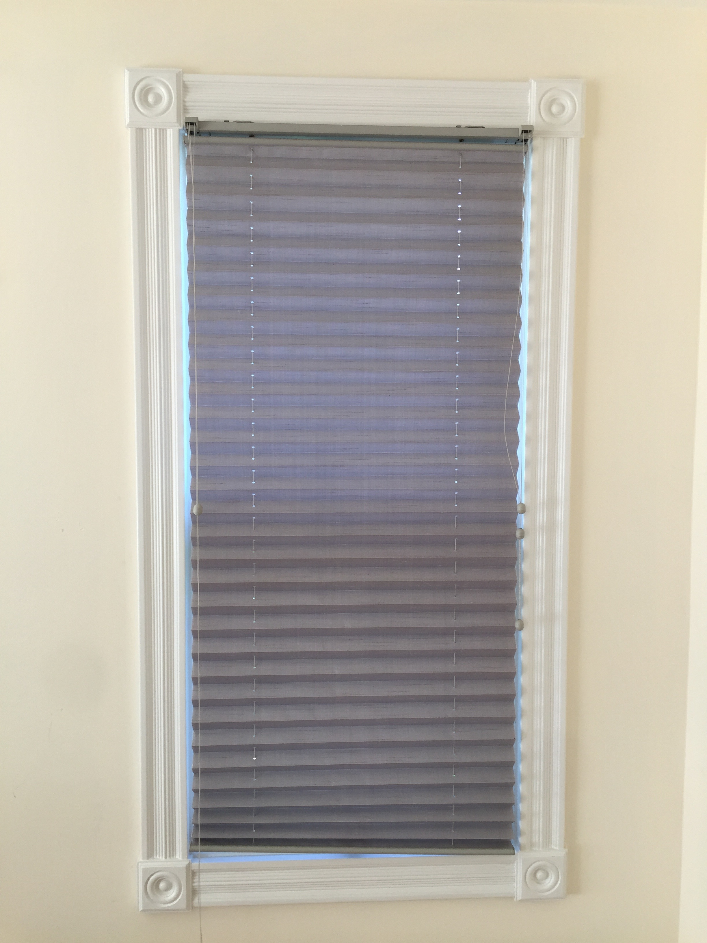 Five Periwinkle Grey Lavender Blinds Friday