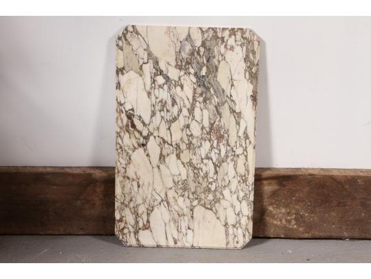 Vintage marble slab 20 x 32 black rock galleries for Brownstone liquidators