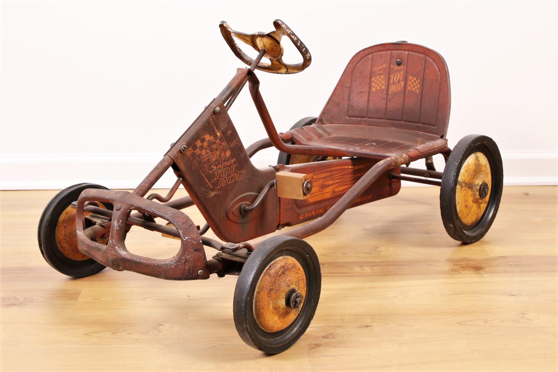 Vintage Murray Tot Rod Pedal Car | Black Rock Galleries