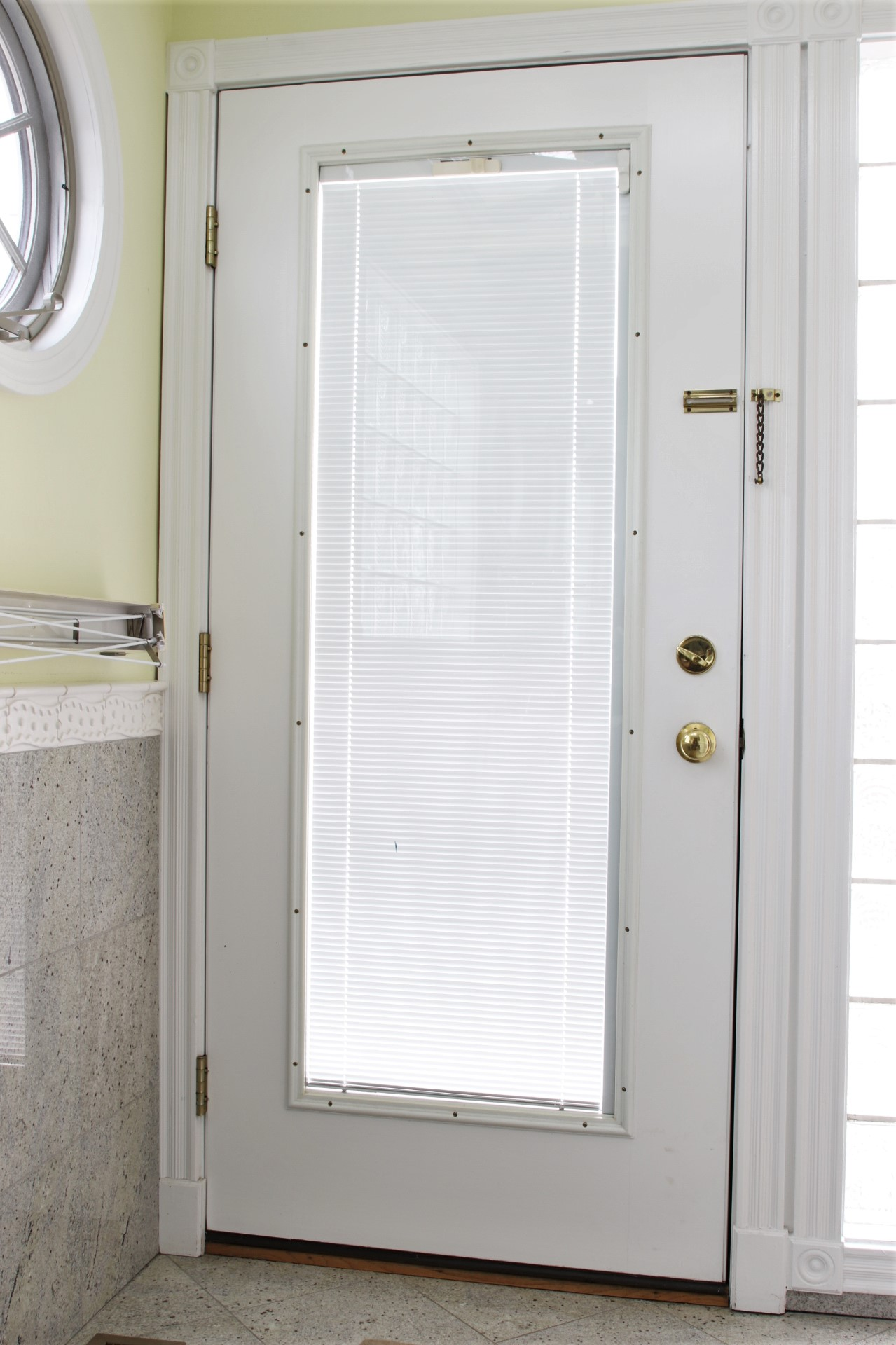 Exterior: High Quality Steel Clad Glass Panel Exterior Door And