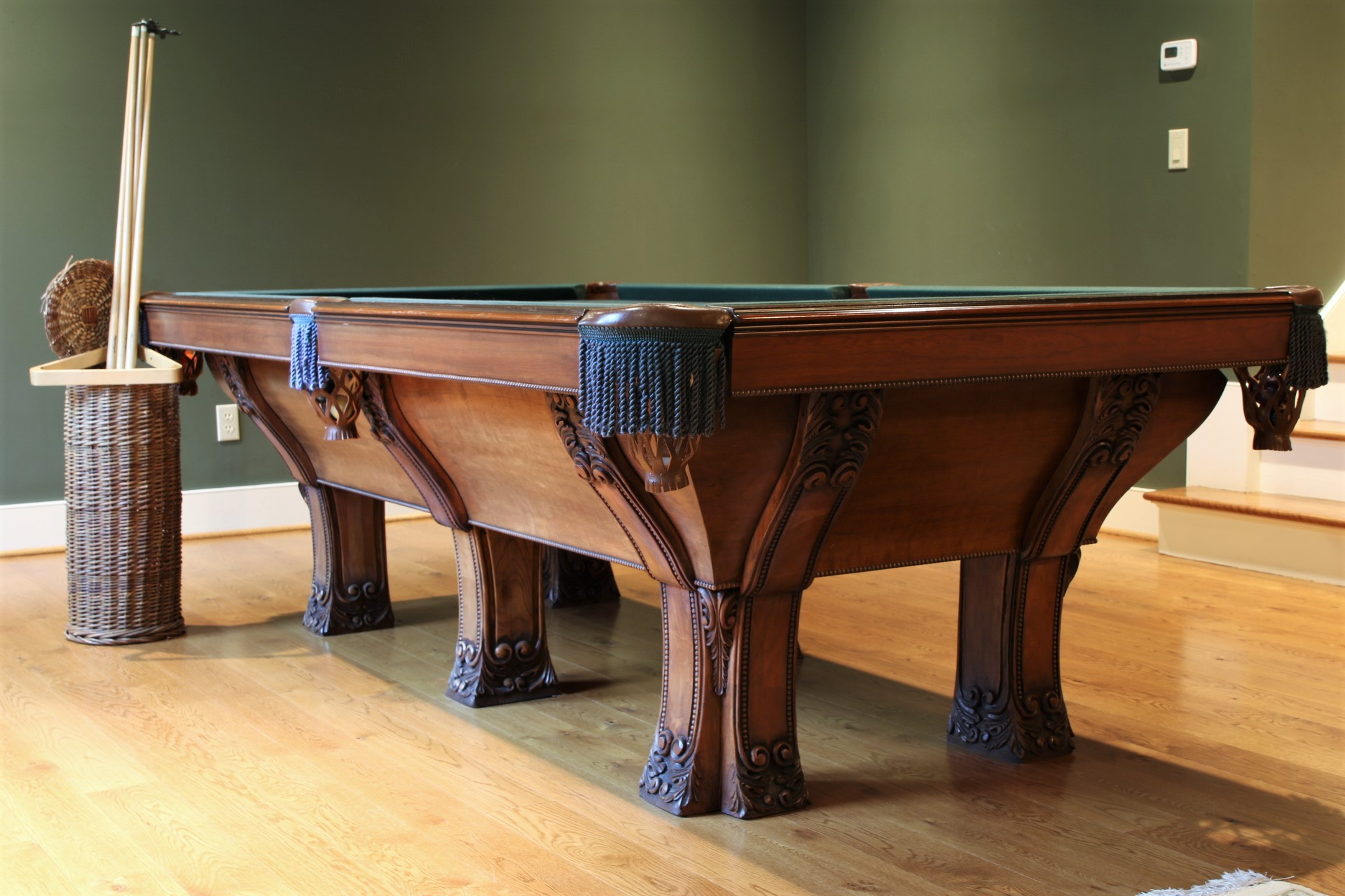 Fabulous Pool Table Purchased From Arnie Kaye