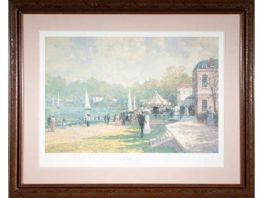 Robert Girrard - Thomas Kinkade Numbered Lithograph Titled \