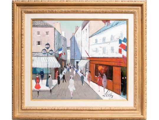 Art Auction Of Charles Levier Painting