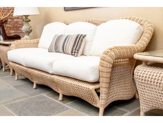 Admirable Revised Indoor Wicker Lane Venture Indoor Wicker Sofa Short Links Chair Design For Home Short Linksinfo