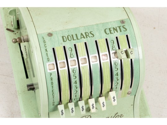 paymaster x2000 check writing maching in origional green