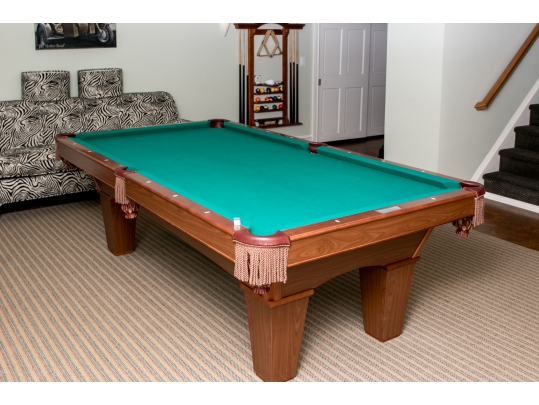 Brunswick Contender Mansfield Classic Pool Table Original Owner - Classic billiard table