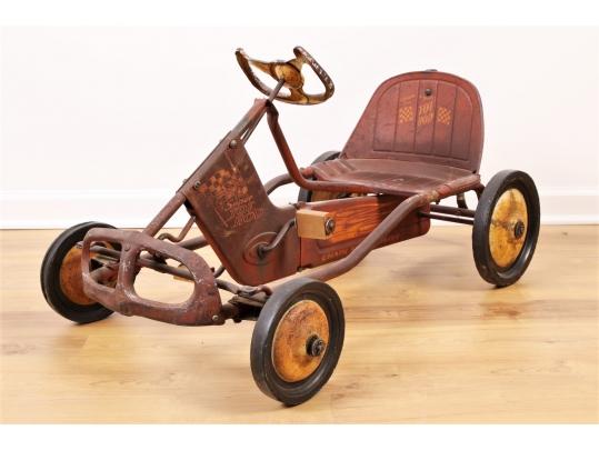 Vintage Murray Tot Rod Pedal Car 62586 Black Rock Galleries