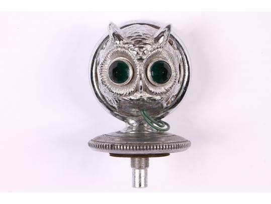Moto glow boyce the motometer co inc owl form hood for Brownstone liquidators